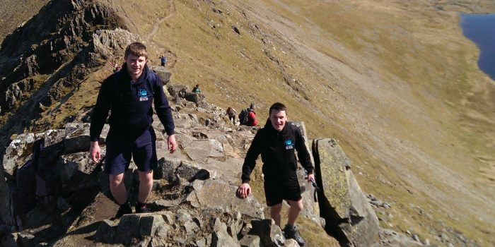Bluecube Conquer Helvellyn For Local Charity