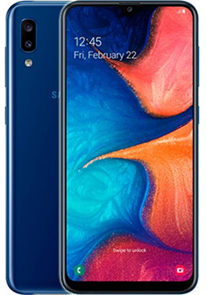Samsung A20 Mobile Phone
